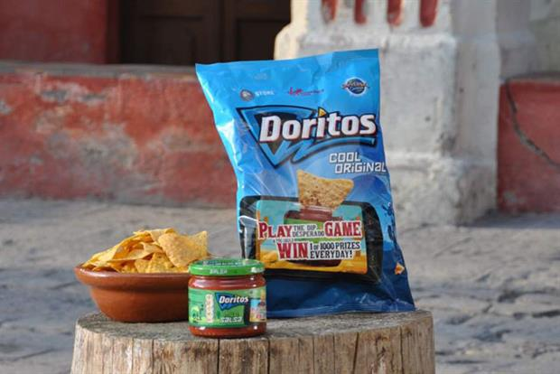 Doritos: runs Facebook game