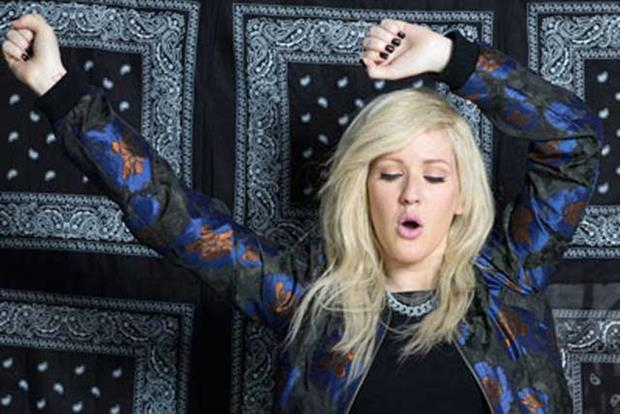 Ellie Goulding: stars in Asos Christmas activity