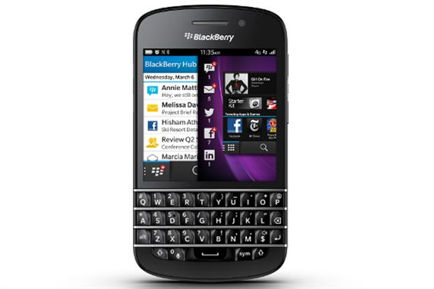 BlackBerry 10: company unveils new phones