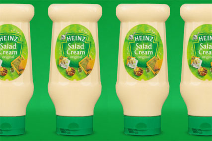 Heinz: prepares Salad Cream radio activity