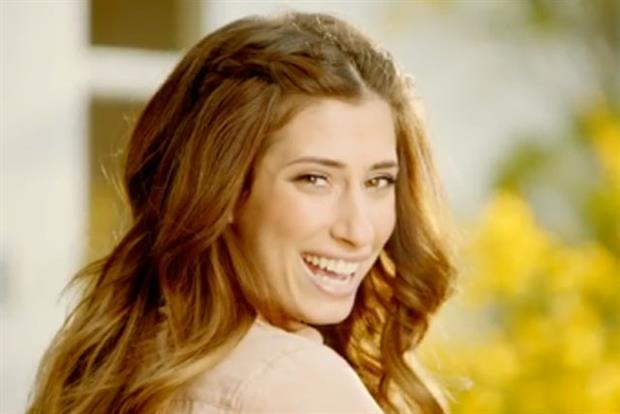 Stacey Solomon: stars in Beta's 'odes to mums'