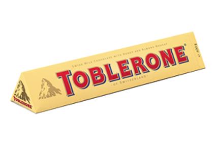 Chocolate Bar Triangle Box