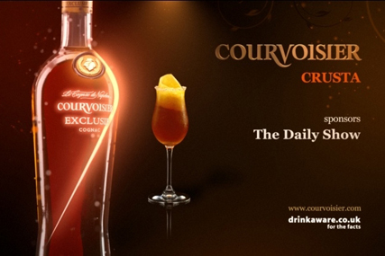 Courvoisier: sponsoring More4's The Daily Show
