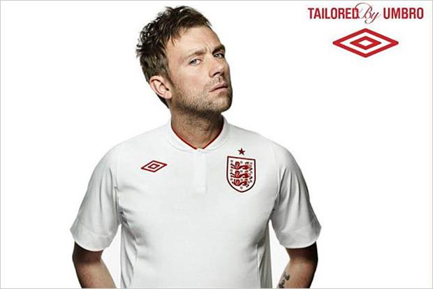 Umbro: Blur's Damon Albarn fronts press campaign