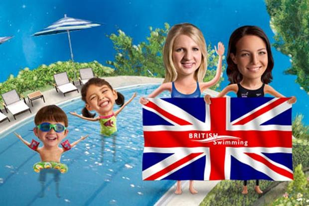 British Gas: unveils 'free swim' campaign