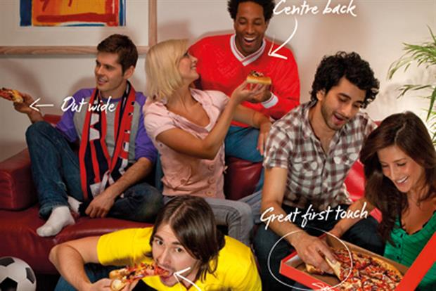Recent Pizza Hut campaign