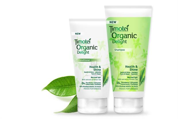 Timotei: Unilever readies UK launch of Organic Delight