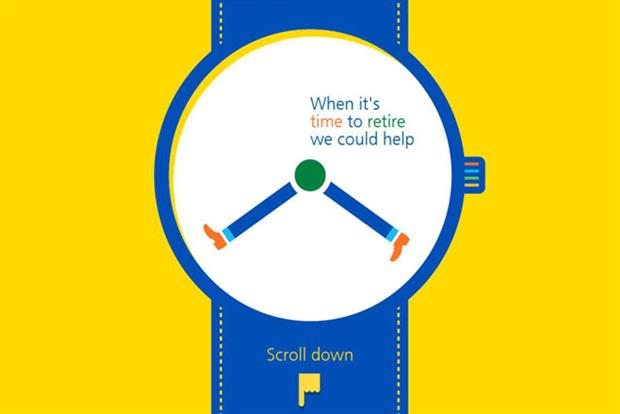 Aviva: hosts retirement advice on HTML5 site