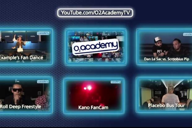 O2: launches O2 Academy TV on YouTube