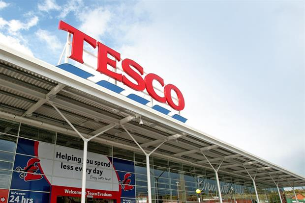 Tesco: highest share of voice