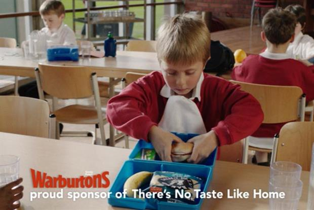 Warburtons: targeting consumers at lunchtime