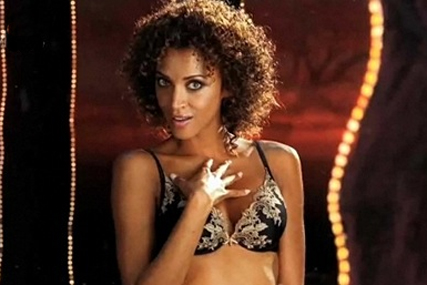 Noemie Lenoir: star of Marks and Spencer's Christmas campaign