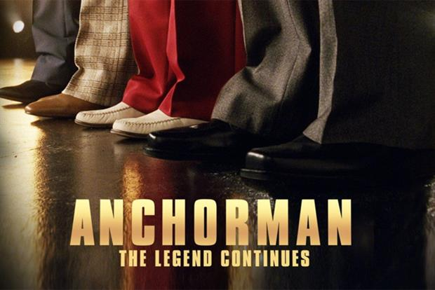 Anchorman 2: string of brand partnerships