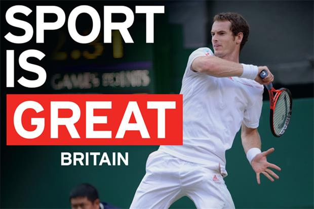 VisitBritain: tourist body marks Andy Murray's win as part of its Great campaign