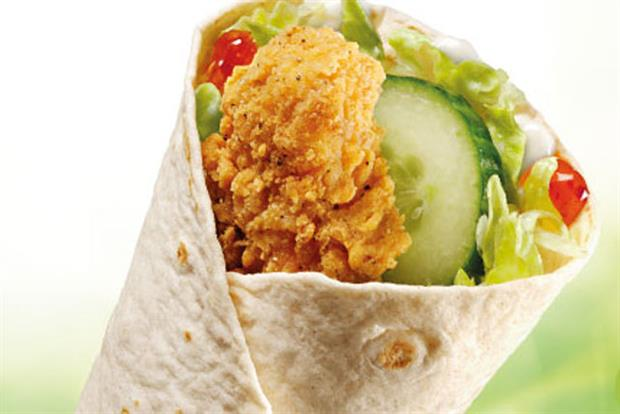 McDonald's: sweet chilli crispy chicken wrap launches in the UK