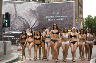 Iris event for Wonderbra