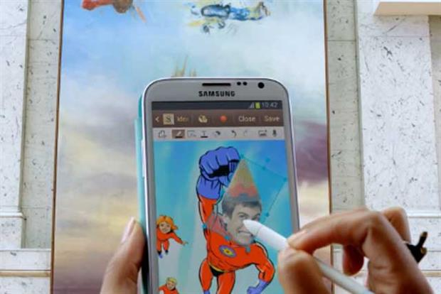 Samsung: Galaxy Note TV campaign