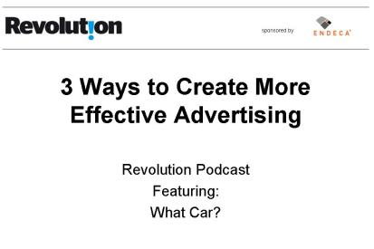 Revolution interviews What Car?'s Jim Lee on marketing effectiveness