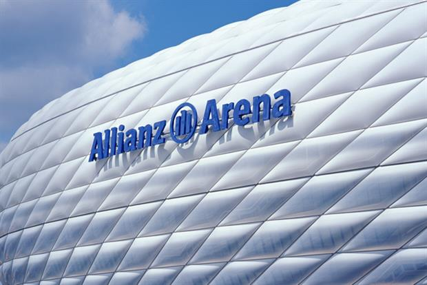 Allianz: sponsors Bayern Munich's stadium