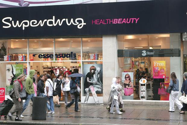Superdrug: taking on Boots' Advantage Card
