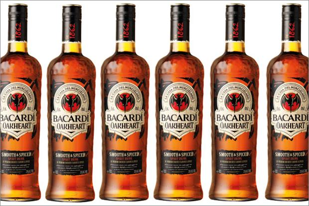Bacardi: rolls out Oakheart dark rum