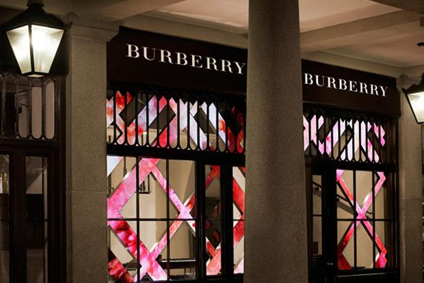 Burberry: opens store in Covent Garden
