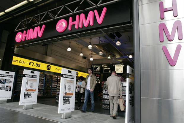 HMV: chief executive confident despite Christmas slaes slump