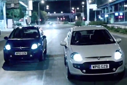 Tesco: extending its Faithless campaign highlighting the Fiat Punto