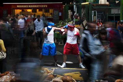 Boxers at Borough Market (Picture: VisitBritain/Craig Easton)
