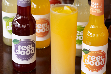 Feel Good : drinks brand secured deal with the Orchid Group