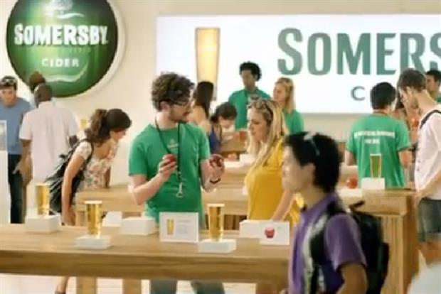 Somersby Cider: debut ad