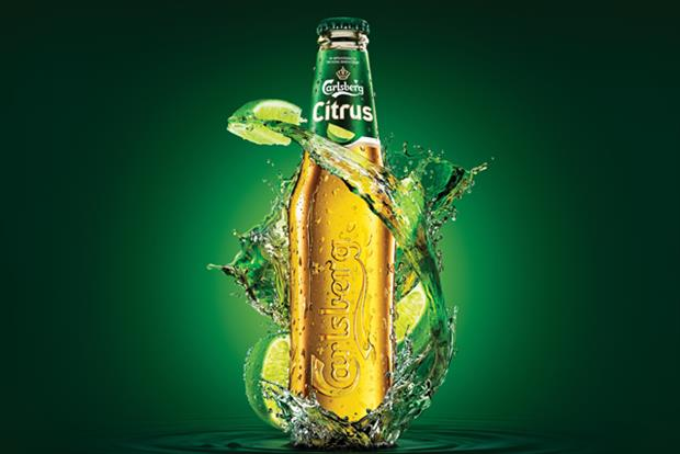 Carlsberg Citrus: will be backed by a TV campaign in May