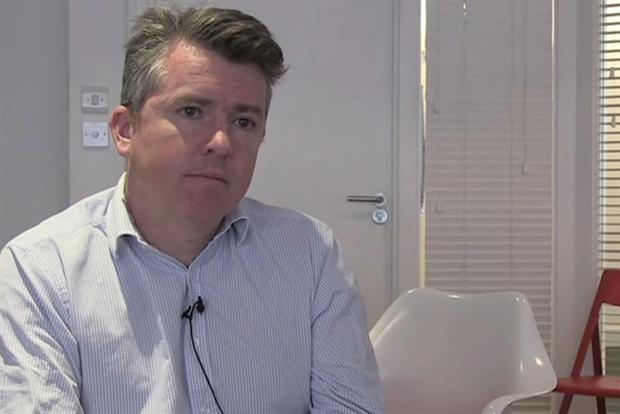 Peter Duffy: marketing director, EasyJet