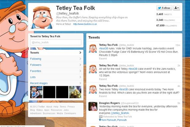 Tetley Tea Folk: rolls out Olympic campaign