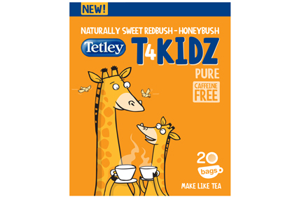 Tetley trials T4KIDZ