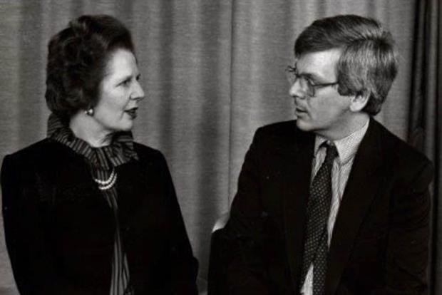 Margaret Thatcher with Ian Twinn during the 1983 General Election campaign