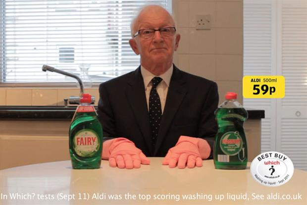 Aldi: likeable, funny, wry and witty characters deliver their punchlines with aplomb