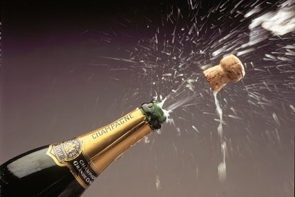 The UK Champagne market was worth £735m in 2009