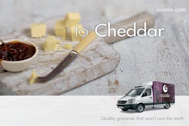 Ocado: home delivery in-house campaign