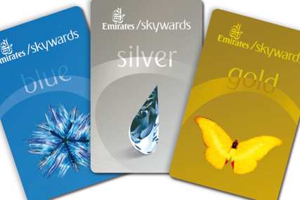 Emirates: relaunched Skywards cards depict high-profile artwork