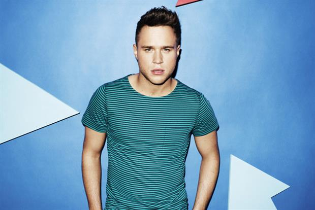Olly Murs: features in Barclaycard campaign