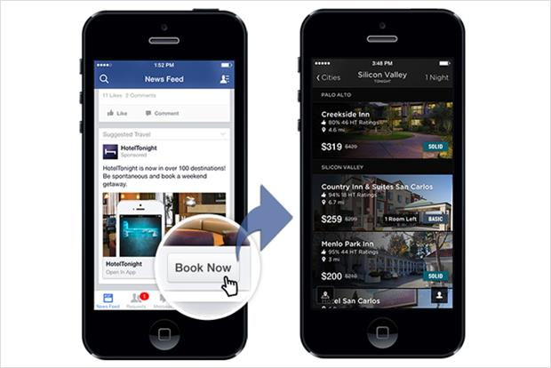 Facebook: updates mobile apps features