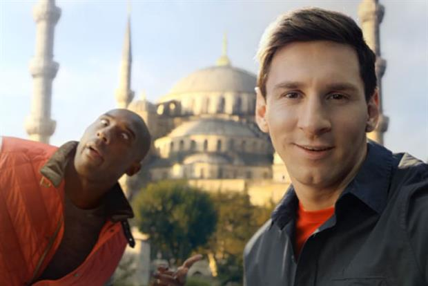 Turkish Airlines: latest ad stars Kobe Bryant Lionel Messi