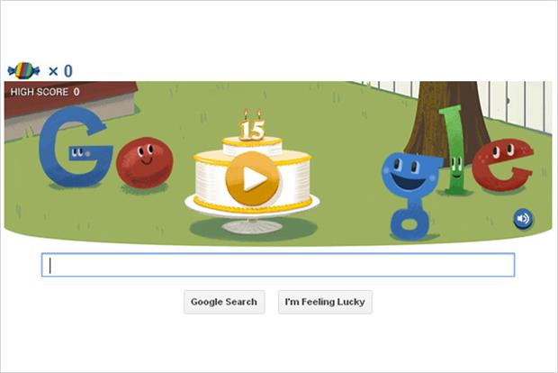 Google: celebrates its 15th anniversary