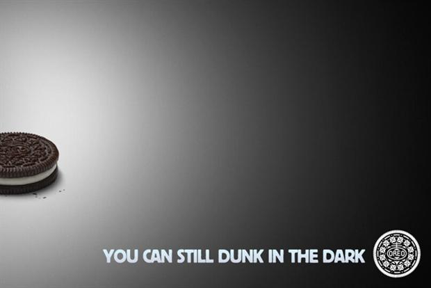 Oreo: Mondelez's biggest moment on Twitter during the Super Bowl power cut
