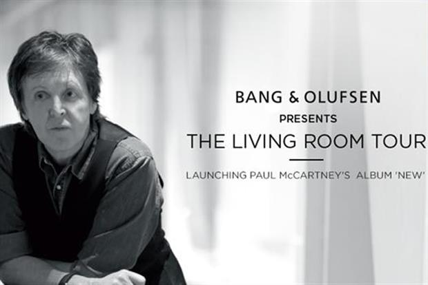 Bang & Olufsen: recruits Sir Paul McCartney