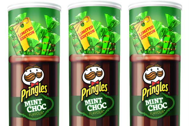 Pringles: launches Mint Choc limited edition variant