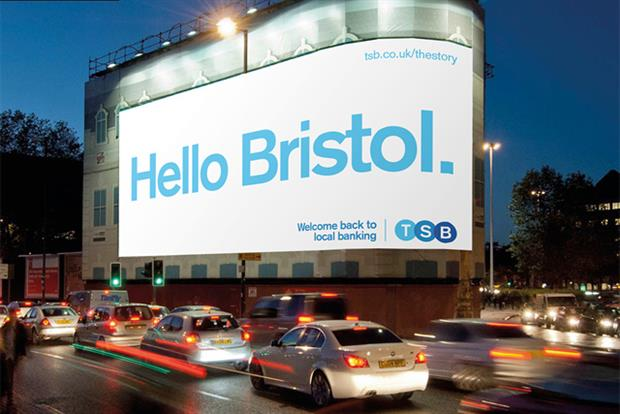 TSB: rolling out £30m relaunch campaign