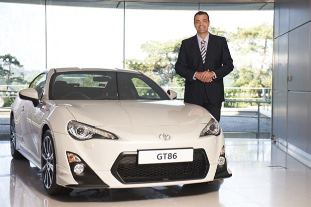 Chris Hayes: appointed UK marketing director for Toyota