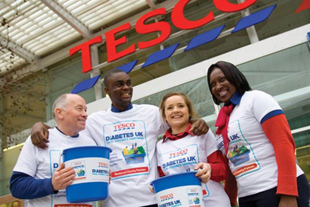 Tesco: Diabetes UK's National Charity Partner
